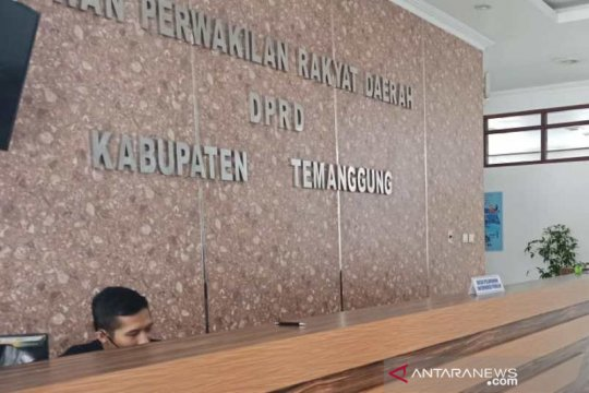 Anggota dewan positif COVID-19 Gedung DPRD Temanggung tutup sementara