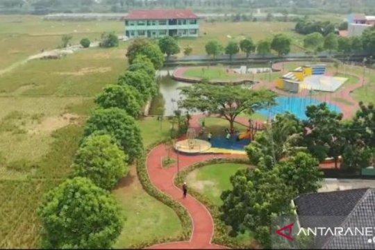 Taman Bintaro dibuka untuk warga saat PSBB transisi
