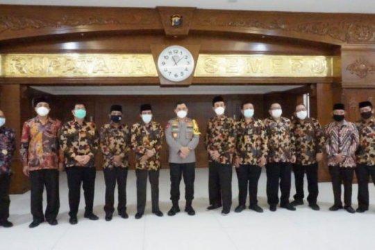 Kapolda bertemu pimpinan FKUB bahas keamanan di Jatim