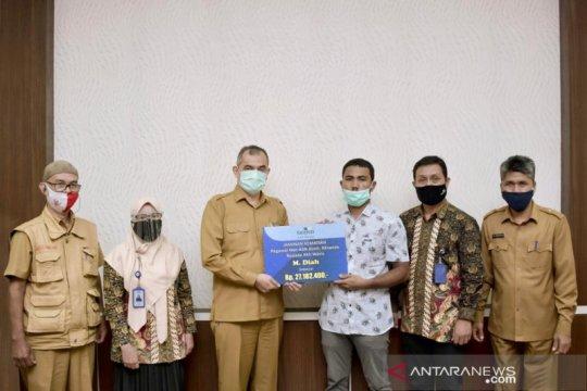 Jaminan kematian pegawai non-ASN di Sabang, Aceh disalurkan PT Taspen