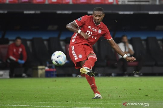 Diincar Barca dan Madrid, Alaba tolak tawaran kontrak baru dari Bayern
