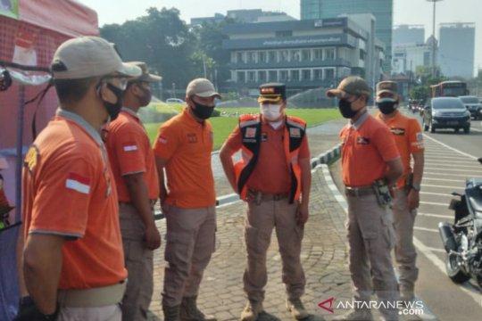 Satpol PP DKI fokus jaga di empat titik untuk pengamanan aksi demo