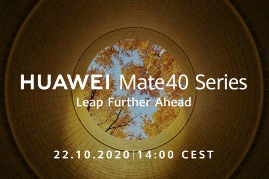 Huawei Mate 40 debut pekan depan