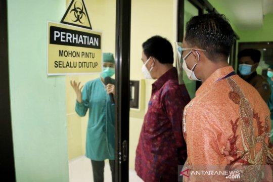 Laboratorium PCR RSD Mangusada Badung siap diuji coba