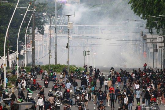 Polisi identifikasi penggerak pelajar dalam ricuh unjuk rasa