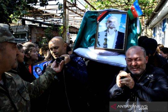 Azerbaijan dan Armenia saling tuduh dalam penembakan di Ganja