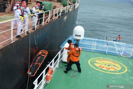 Basarnas evakuasi jenazah ABK Tanker di perairan Aceh