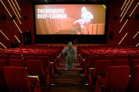 Bioskop Jakarta dibuka besok, nonton film wajib pakai masker