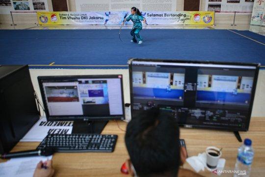 Kompetisi Wushu digelar secara virtual
