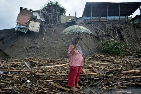 Dampak banjir bandang di Garut
