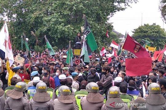 Tak ada kasus COVID-19 dari peserta demo di Kudus-Jateng