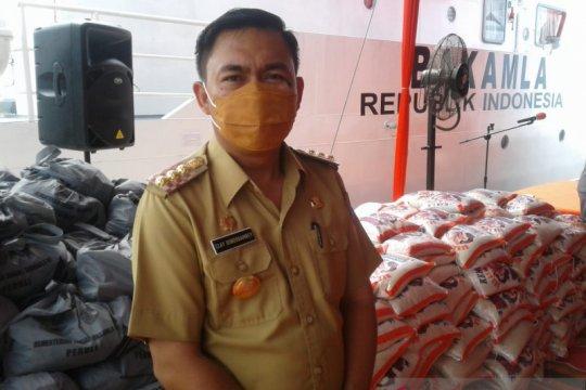Bantu nelayan, bakti sosial Bakamla di Minahasa Utara diapresiasi