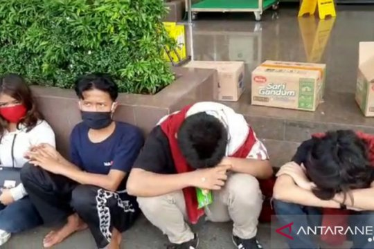 Polisi temukan pelajar SD ikut aksi demo tolak UU Cipta Kerja