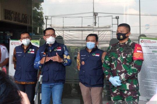 Ridwan Kamil sebut Depok sudah tidak lagi zona merah COVID-19