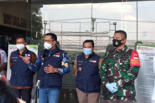 Gubernur Jabar usul Depok mendapat vaksin COVID-19 tahap pertama