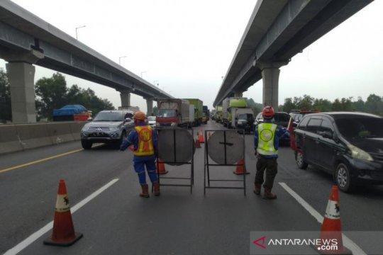 Jasa Marga buka tutup lajur Tol Jakarta-Cikampek KM 41