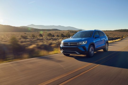 VW Taos meluncur pada musim panas tahun depan