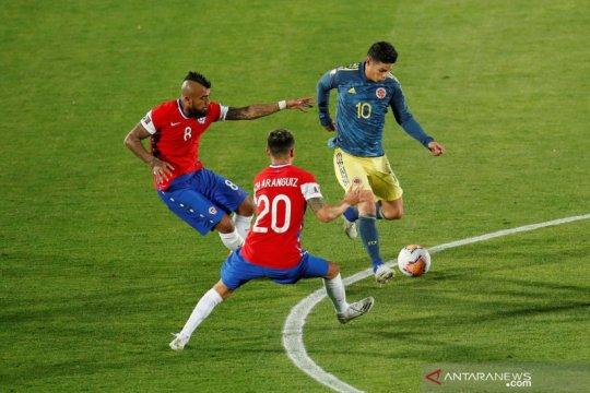 Kualifikasi PIala Dunia 2022: Chile bermain imbang dengan Kolombia