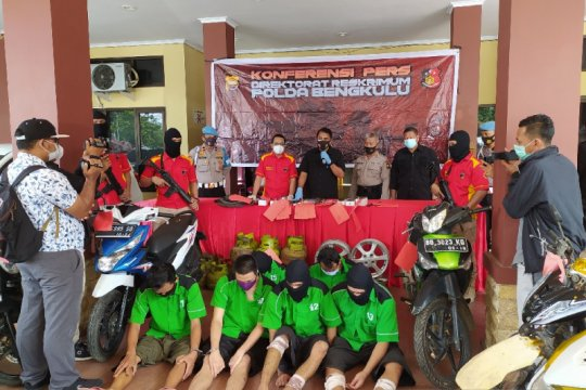 Modus jadi Satgas COVID-19, komplotan begal di Bengkulu ditangkap