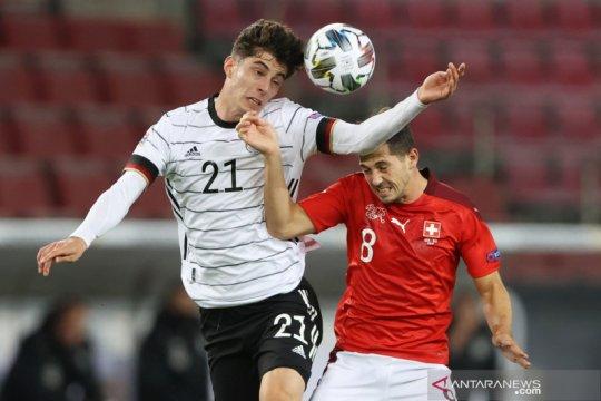 UEFA Nations League: Swiss tahan imbang Jerman 3-3