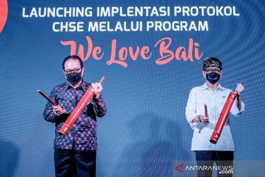 """""""We Love Bali"""" resmi diluncurkan Menparekraf Wisnhutama"""