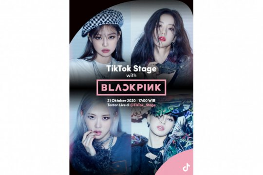 "BLACKPINK bakal sapa BLINK di ""TikTok Stage with BLACKPINK"""