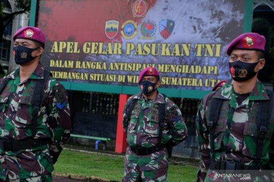 Apel gelar pasukan TNI di Sumut