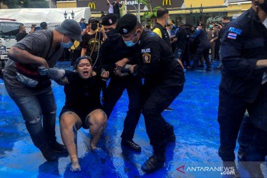 Protes anti pemerintah Thailand dimajukan sebab khawatir akan gangguan