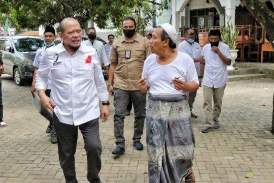 Ketua DPD RI pantau protokol kesehatan pondok pesantren di Jatim