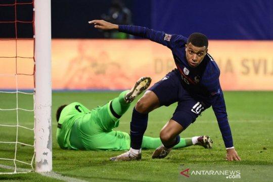 Gol Mbappe pastikan kemenangan 2-1 Prancis atas Kroasia