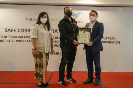 Bandara Ngurah Rai Bali raih sertifikat inisiasi koridor sehat