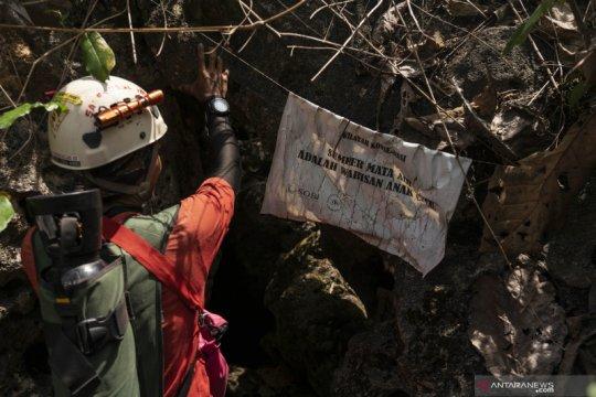 Eksplorasi sumber mata air sungai bawah tanah