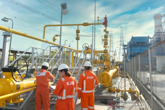 PGN bersiap alirkan gas lapangan Kepodang ke Pembangkit Tambak Lorok