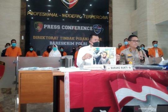 Polri beberkan peran empat tersangka aktivis KAMI Medan