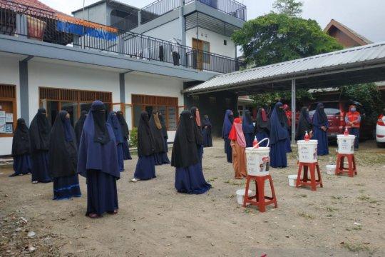 PMI Kota Sukabumi kampanyekan pentingnya mencuci tangan