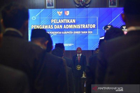 Kemendagri bantah berikan rekomendasi pelantikan pejabat Jember