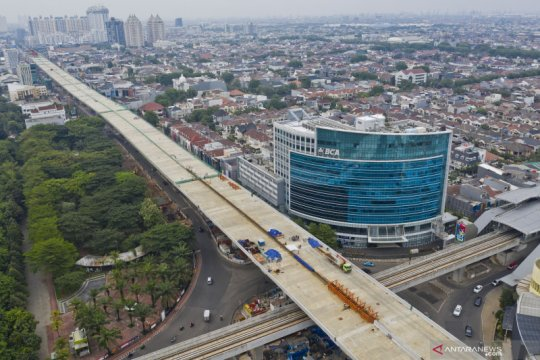 Pembangunan tol layang Kelapa Gading - Pulogebang