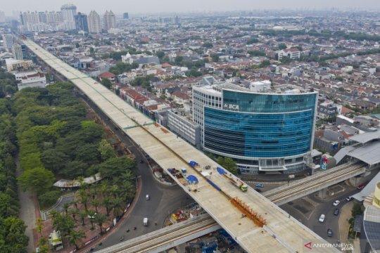 Konstruksi tol layang Kelapa Gading - Pulo Gebang capai 71 persen
