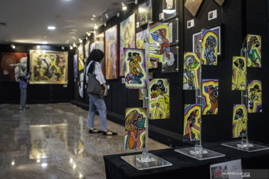 Pameran Creative Freedom to Heal the Nation
