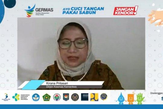 Hanya separuh masyarakat Indonesia lakukan cuci tangan dengan benar