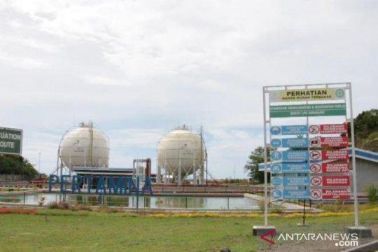 Terminal LPG Sulut salurkan 250 MT per hari untuk kebutuhan masyarakat