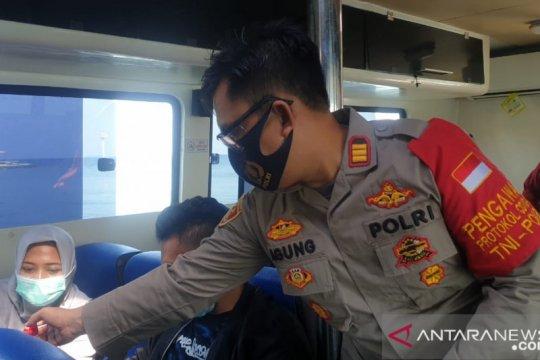 Polres Kepulauan Seribu sosialisasi penggunaan masker untuk wisatawan
