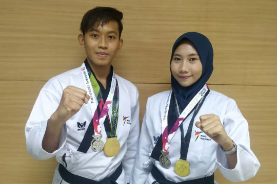 Mahasiswa Udinus sabet emas di kejuaraan Poomsae virtual internasional