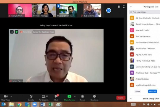 Helmy Yahya bagikan tips peluang usaha di masa pandemi COVID-19