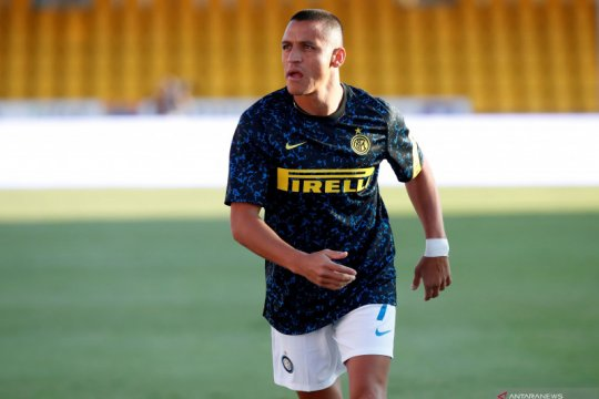 Alexis Sanchez terancam absen dalam derbi Milan