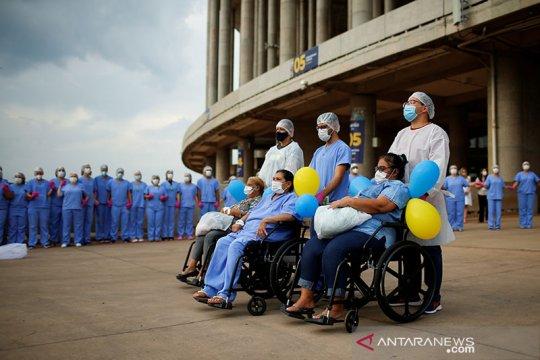 Brazil catat penambahan 69.198 kasus dan 1.151 kematian COVID