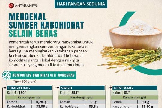 Mengenal sumber karbohidrat selain beras
