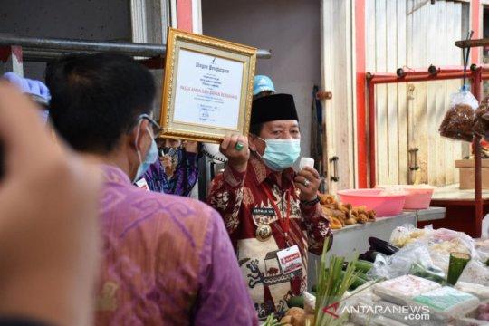 Pasar Wayhalim Bandarlampung dapat penghargaan dari BPOM RI
