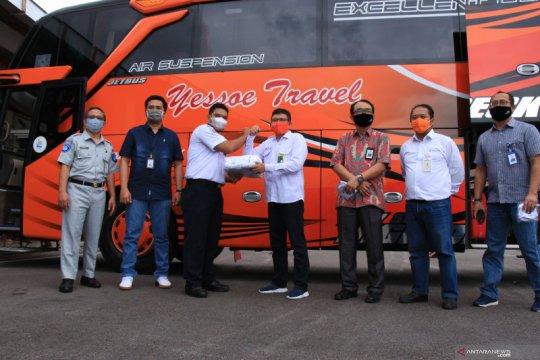 Penggunaan masker terus dikampanyekan Satgas BUMN Kalteng