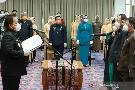 Gubernur Lampung nyatakan pelantikan pejabat merupakan hasil lelang